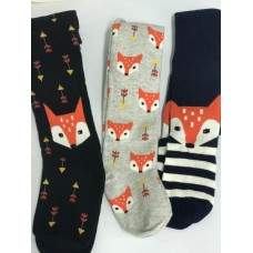 Колготки BROSS Kids Tights, лисички