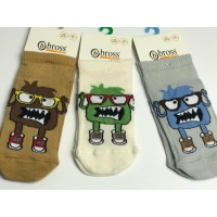 Носочки BROSS Kids Socks, чудики в очках