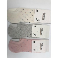 Стопки BROSS Women Sneaker Socks, точки